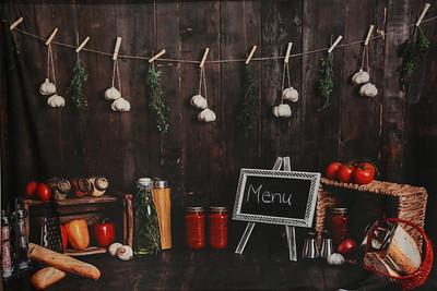 Kitchen Backdrop
