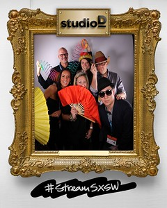 Studio D #StreamSXSW Cinemagraph Portrait Booth