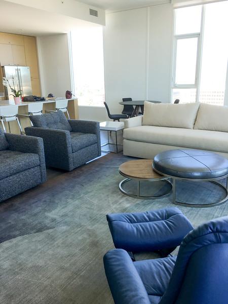 San Jose Penthouse- Furniture selection