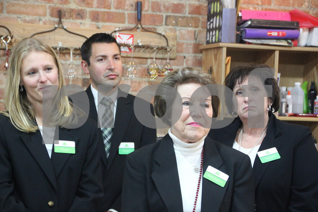 Thursday, November 19, 2015, Studio Fusion had their ribbon cutting ceremony at Studio Fusion in Fort Dodge. Pictured are (left to right): Shelly Blunk, Matt Johnson, Earlene Nordstrom, and Cheryl O'Hern, who are ambassadors from Fort Dodge Growth Alliance.