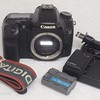 Canon 40D body Charger & 2 Batteries