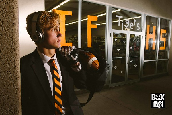 Chase Baker Idaho Falls Tigers Senior Pictures