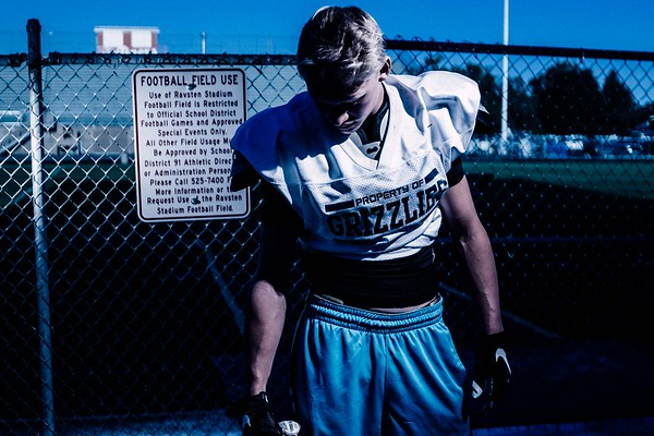 Connor Maloney Skyline Grizzlies Football