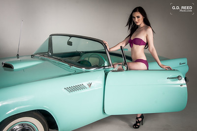 Model: Rebecca Location: Creative Culture Denver (Arvada, Colorado) Date Taken: May 31, 2014 Inspired By: 1960s and 1970s Car Commercials