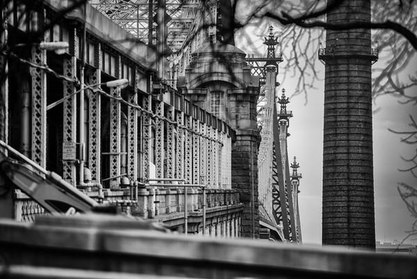 Queensboro Bridge BW