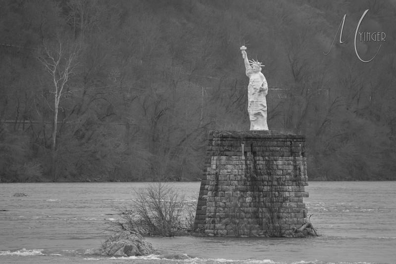 Duphin Co Statue of Liberty - Replica of a Replica