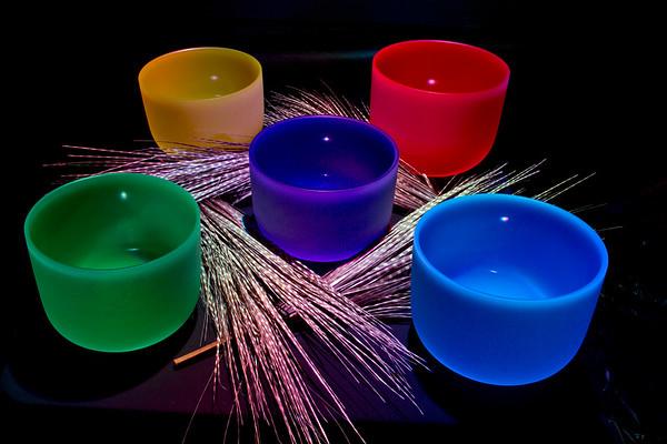 Crystal Singing Bowls (Tami Kelly Pope/TKP Photo)