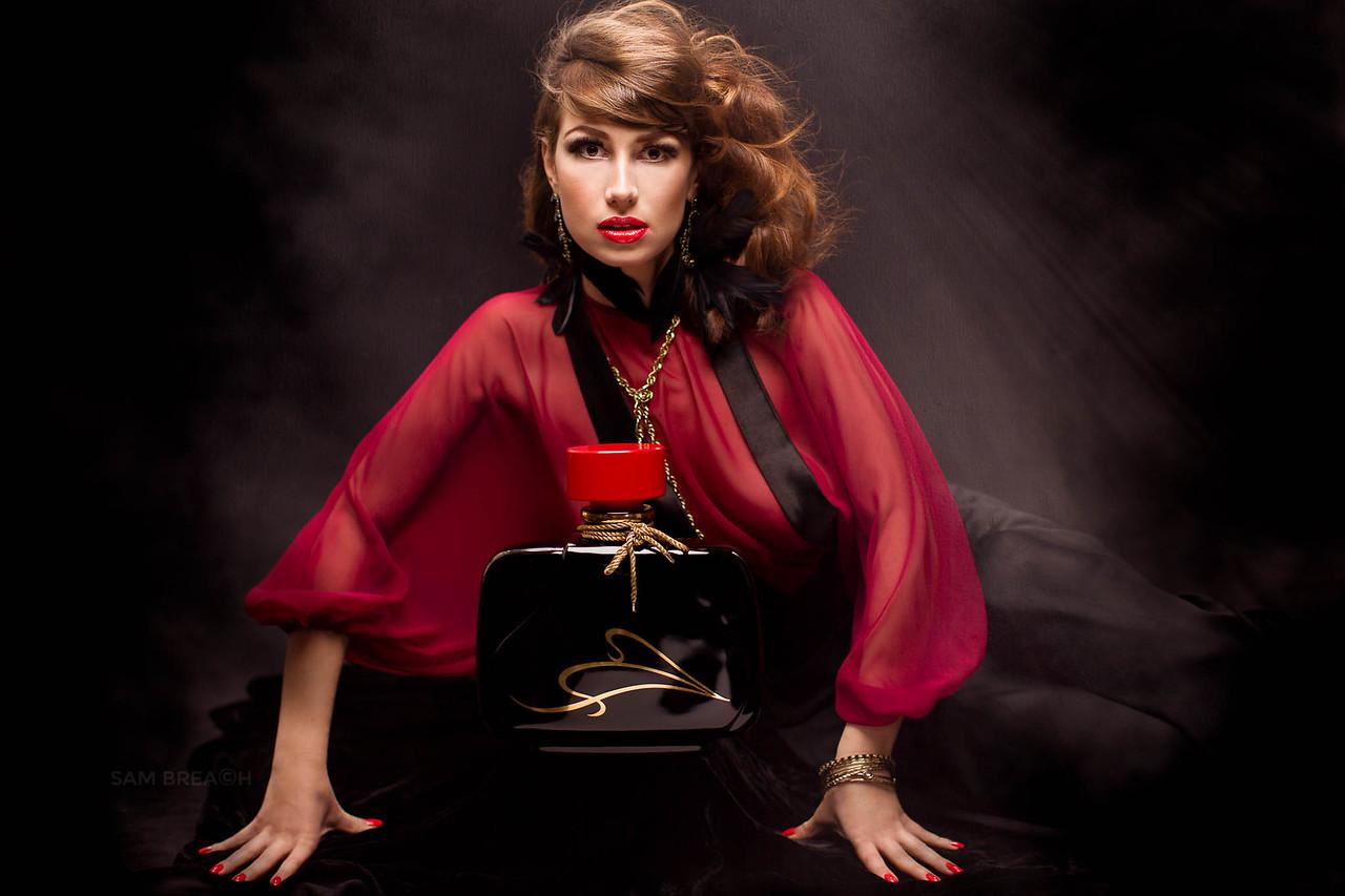 Photography/Retouching: Sam Breach  HMUA: Keisha at Lavender Beauty Model: Olga Nakhodkina Stylist: Pharoah Brand  Assistant: Cat Vibert