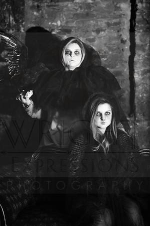 Stephanie + Kaytlynn |Vampire Session|