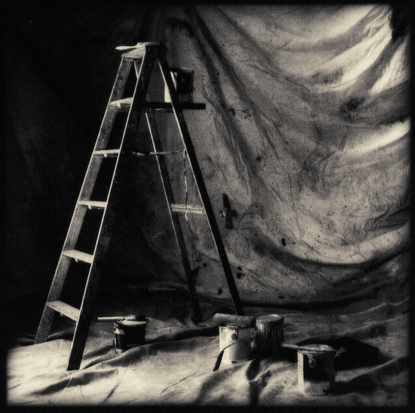 Ladder & Paint Drop