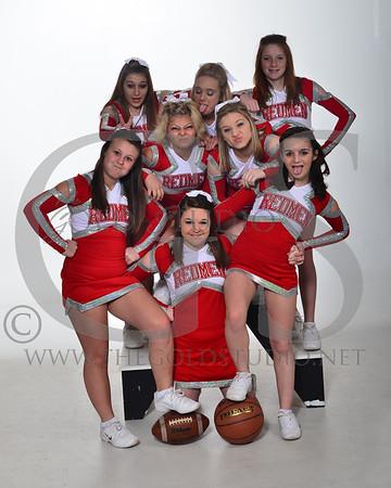 Rock Hill Junior High Cheerleaders 2-22-2012