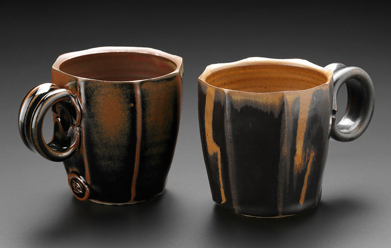faceted mugs