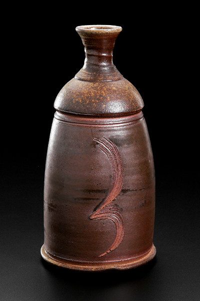 wood fired bottle, sea shell combing