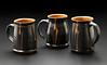 mugs with wax resist design