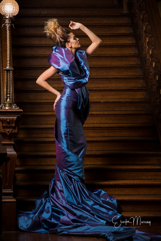 charlotte burton in that dress