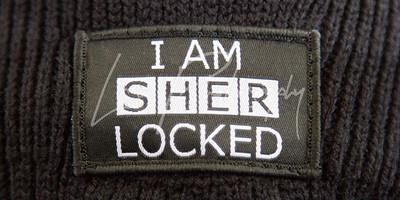 I Am SherLocked Badge
