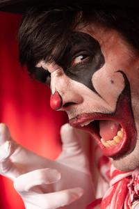 Manic clown