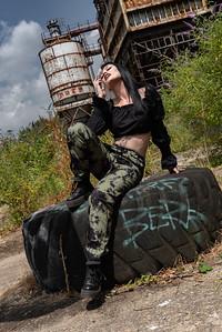 Tyre pose