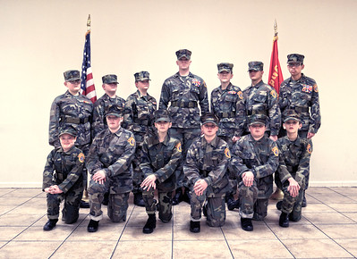 THE YOUNG MARINES