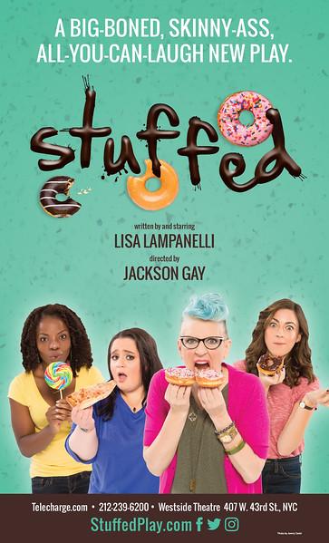 """Stuffed"" Key Art / Off-Broadway 2017"
