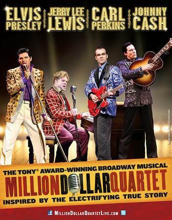 """""""Million Dollar Quartet"""" / Nat'l Tour 2015"""