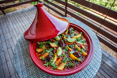 Lamb Tajine (red colour pot)