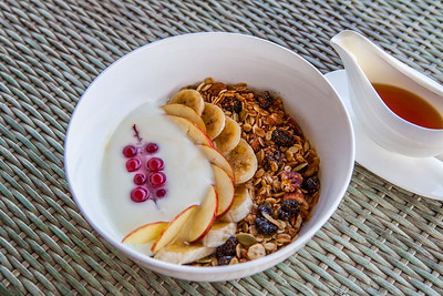Cereals with  fruits