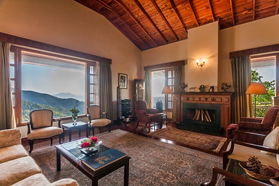 Living Room of a heritage property