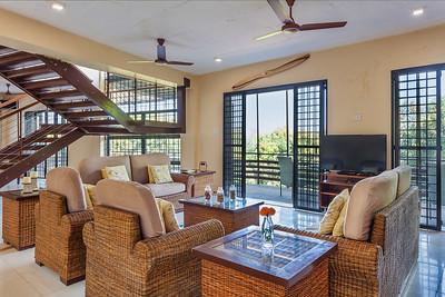 Drawing room of a Vacation home, Mangaon