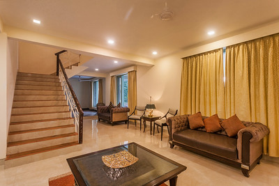 Drawing room on the 1st level inside Dharampur luxury property