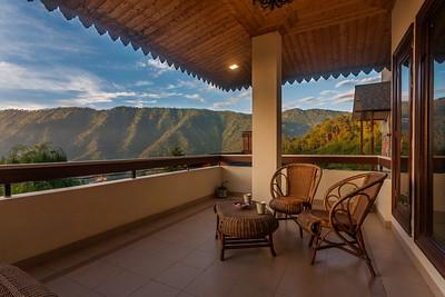 Balcony outside Bedroom1, Dharampur