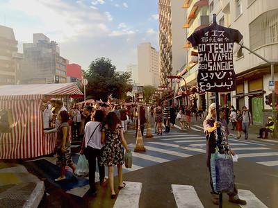 Japanese Market at Liberade, São Paulo, Brazil