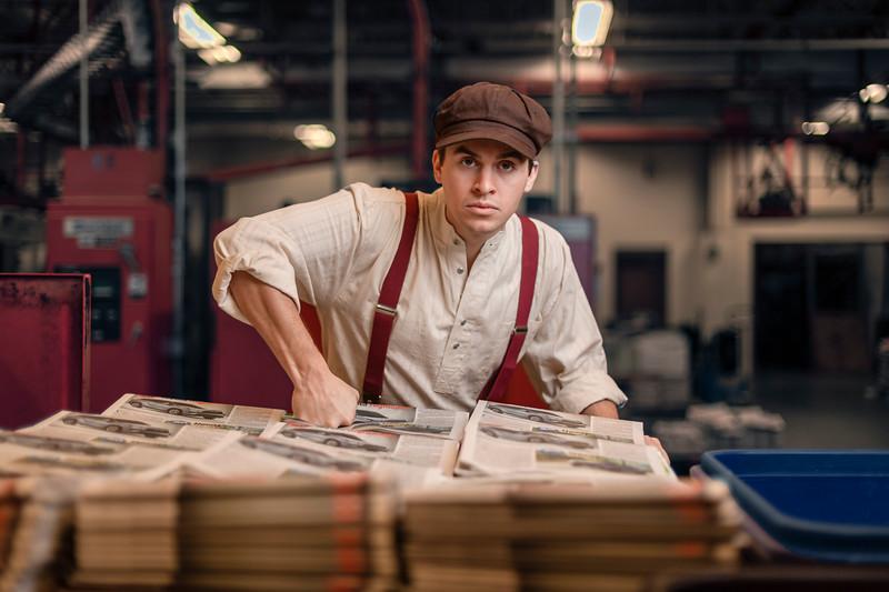 11/25/19 Newsies Portraits