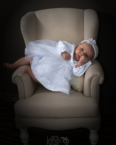 Gelangweilter Baby Blick