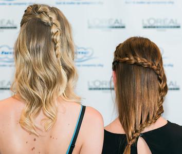 Hair Models at L'OREAL Hair & Fashion Day Hamburg