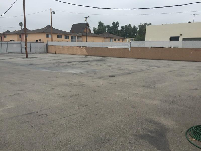 Parking Lot View # 1