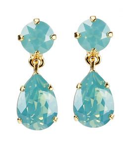 Mini Drop Earrings / Pacific Opal