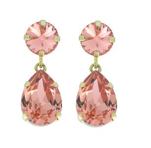 Classic Drop Earrings / Rose Peach