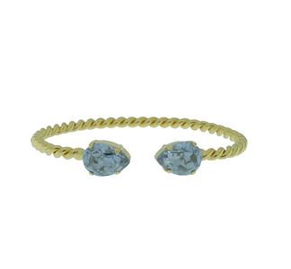 Mini Drop Bracelet / Blue Shade