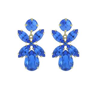 Dione Earrings / Sapphire