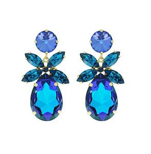 Daisy Earrings / Bermuda Blue