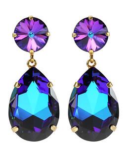Perfect Drop Earrings / Bermuda Blue