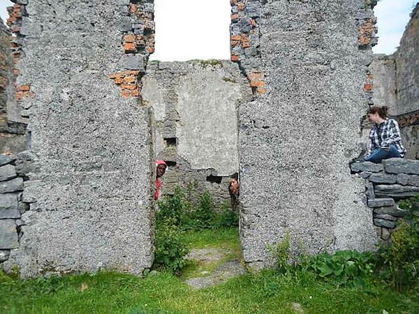 Ruin near Martello Tower