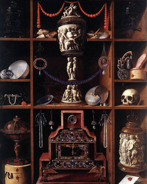 Johann Georg Hainz, The Cabinet of Curiosities, 1666