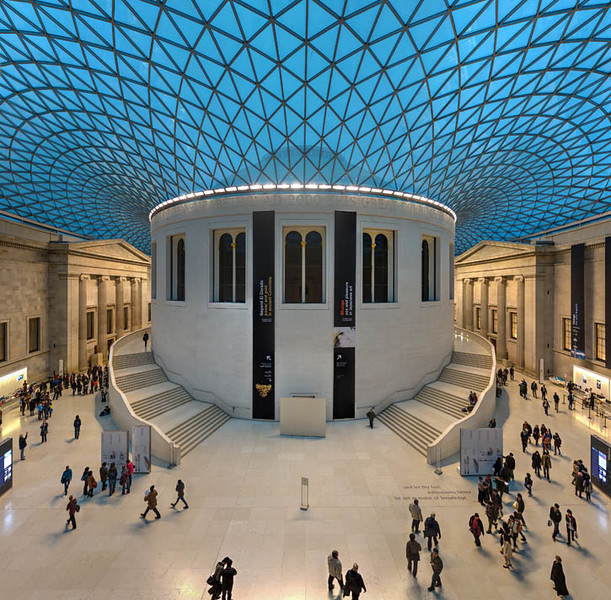 Great Court of the British Museum, London