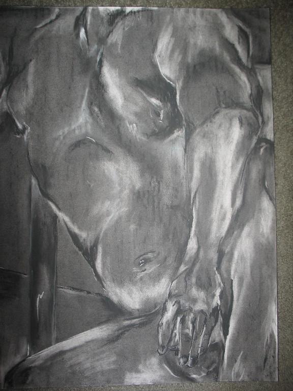 Study of human figure