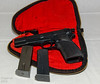 Browning 9mm 13-shots (two mags) Hi-Power (1969) with original black pouch: $500