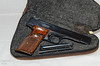 S&W Model 41 .22-cal  (circa early-to-mid 1960s) with cocking indicator: $1,000 (sold)