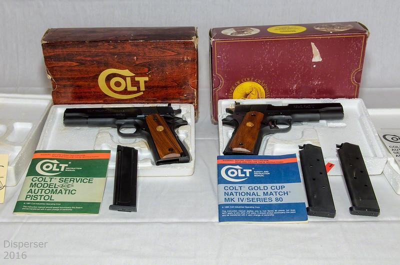 Colt Series 80 National Match MK IV & Ace Colt .22 conversion