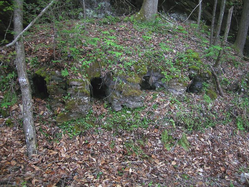 Lime Kiln Near Lower Bear Wallow Falls